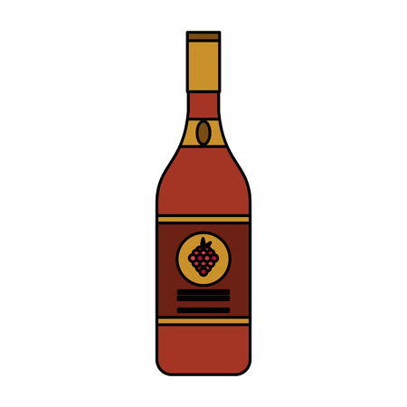 wine bottle icon image vector illustration design Stock Vector - 87449024