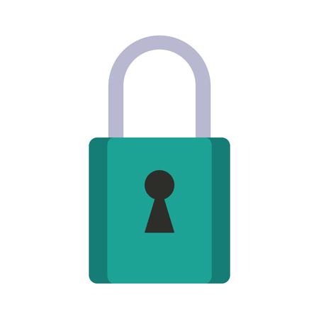forme: safety lock icon image vector illustration design