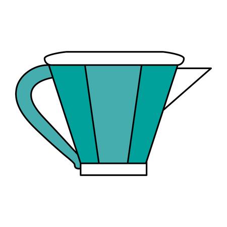 power: kettle tea time icon image vector illustration design
