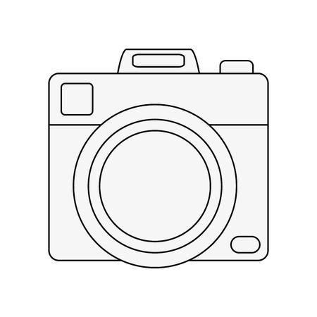 device: Photographic camera symbol icon vector illustration graphic design