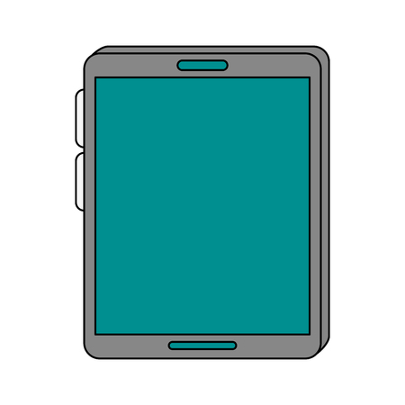 power: Tablet pc technology icon vector illustration graphic design