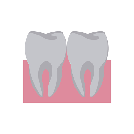 Tooths and dental care icon vector illustration graphic design