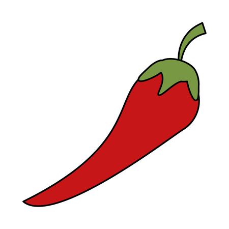 detox: chili pepper vegetable icon image vector illustration design