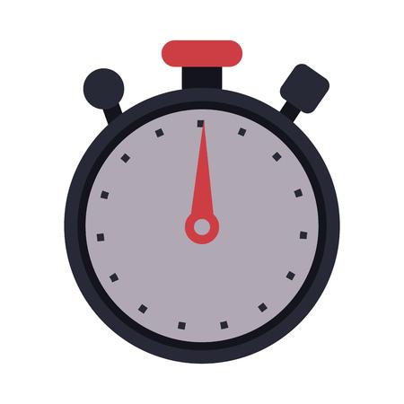 countdown: analog chronometer icon image vector illustration design