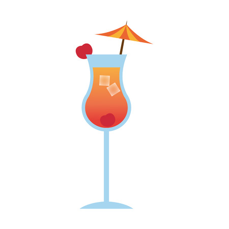 cocktail drink icon image vector illustration design Illustration