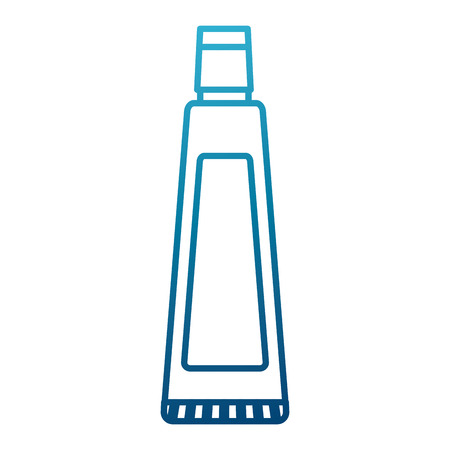Dental Toothpaste product icon vector illustration graphic design