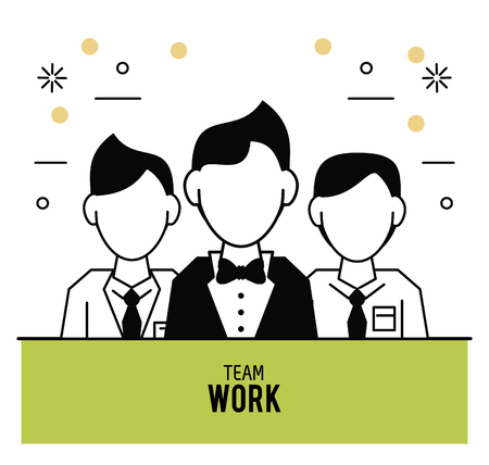 Teamwork icons design icon vector illustration graphic design