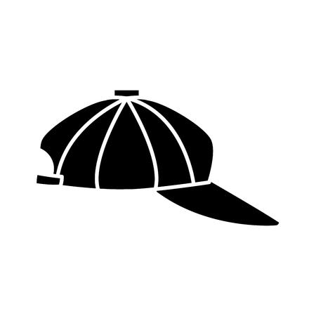 Sport hat cap icon vector illustration graphic design