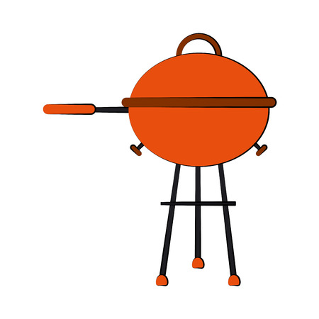bbq grill icon image vector illustration design Illustration