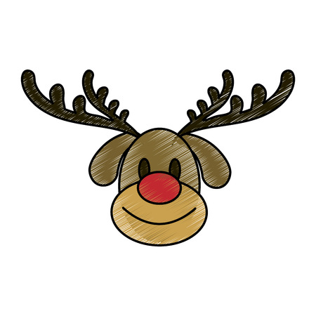 Rodolf the reindeer icon.