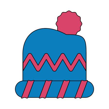 Winter hat icon.
