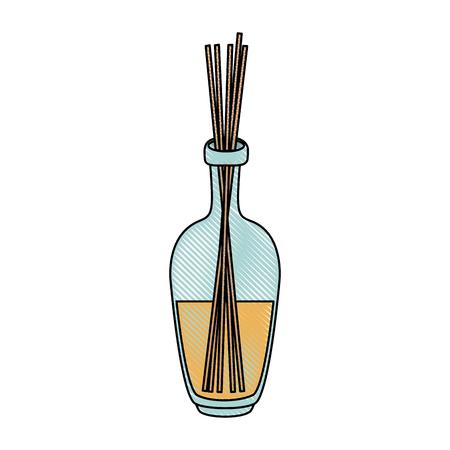 Spa aromatherapy oil icon illustration graphic design