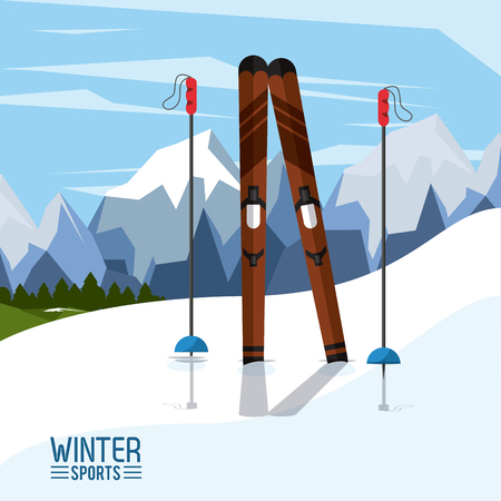 Winter extreme sports icon vector illustration graphic design Stok Fotoğraf - 88087681