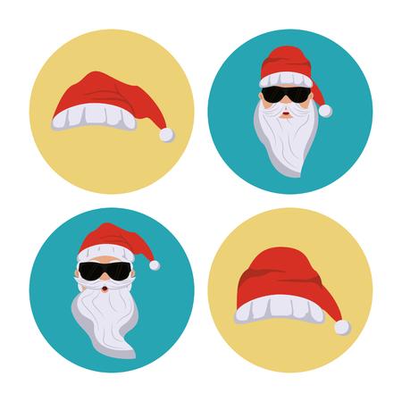 Secret Santa Cartoon Icon Royalty Free Cliparts, Vectors, And Stock ...