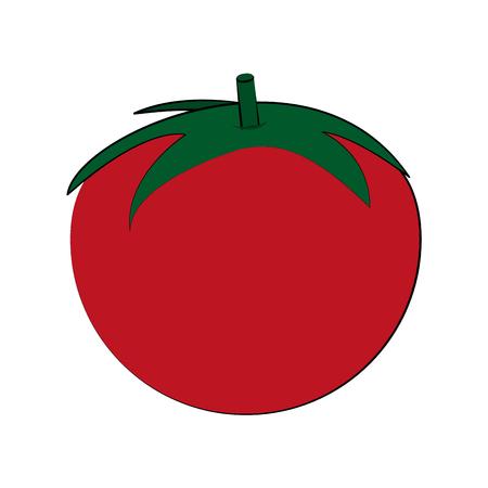 detox: tomato whole fruit icon image vector illustration design Illustration