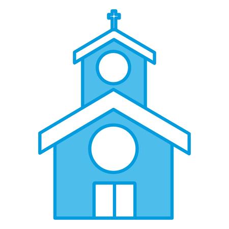 교회 건물 상징 아이콘 벡터 일러스트 그래픽 디자인