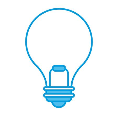 Bulb light energy icon.