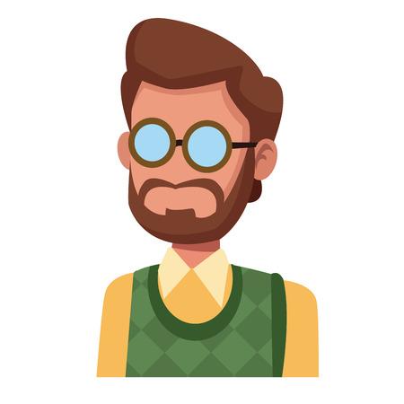 Teacher  icon vector illustration graphic design Illustration