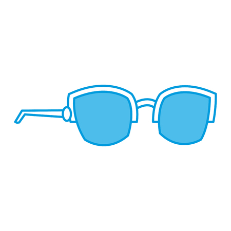 Nerd glasses isolated icon vector illustration graphic design