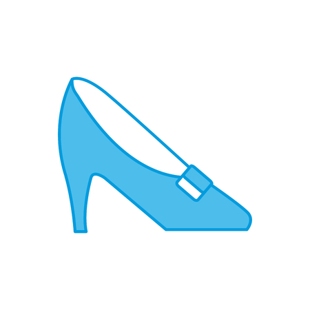 Executive High heel icon vector illustration