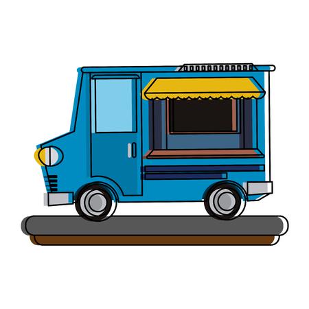 food truck icon image vector illustration design
