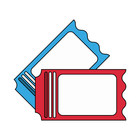 blank tickets icon image vector illustration design