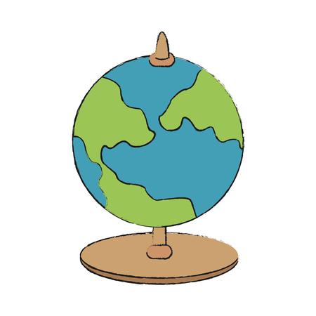 地球地球地球地図アイコン画像ベクトル イラスト デザイン