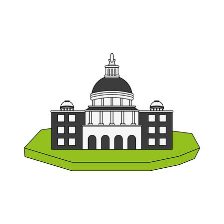 St peters basilica image vector illustration design Illustration