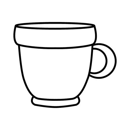 Coffee mug isolated icon vector illustration graphic design Illustration