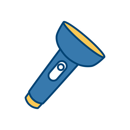 lite: Flashlight isolated symbol icon vector illustration graphic design