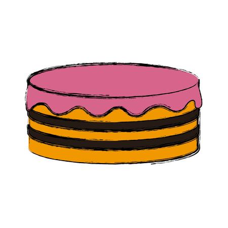 Pancakes delicious food icon vector illustration graphic design