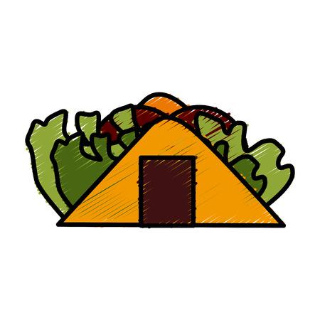 Burrito mexican food icon vector illustration graphic design