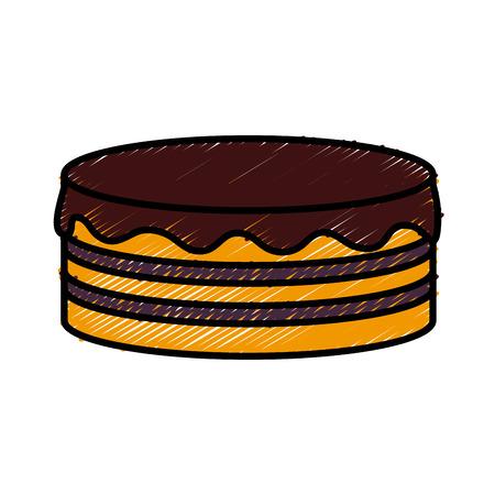 Pancakes delicious food icon vector illustration graphic design Vector Illustration