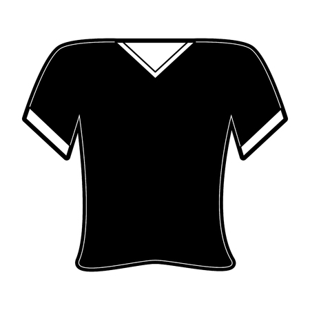 shirt v neck icon image vector illustration design