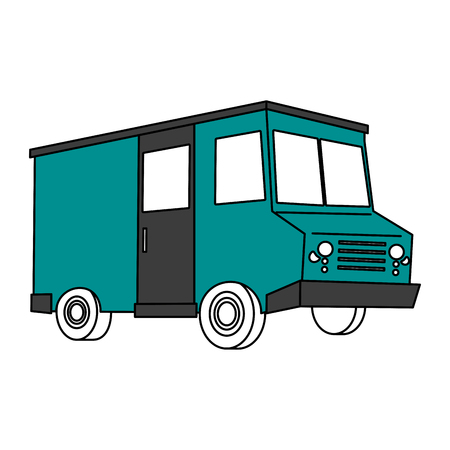 food truck icon image vector illustration design