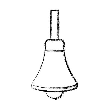 Handbell isolated symbol icon vector illustration graphic design Illustration
