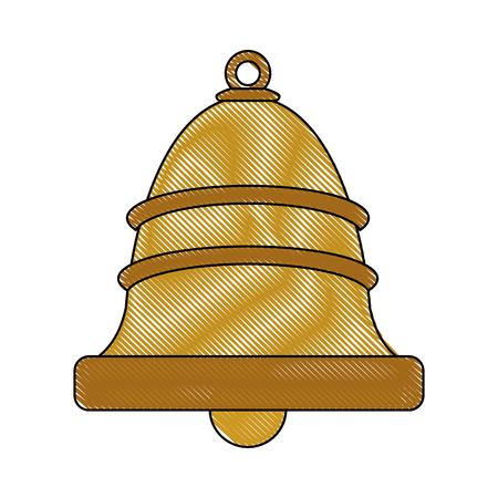 single bell icon image vector illustration design