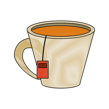 Tea cup isolated icon vector illustration graphic design. Illustration