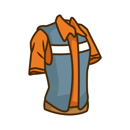 Construction worker vest icon vector illustration graphic design Illustration