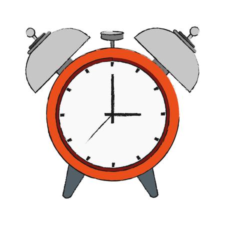 seconds: Clock with alarm icon.