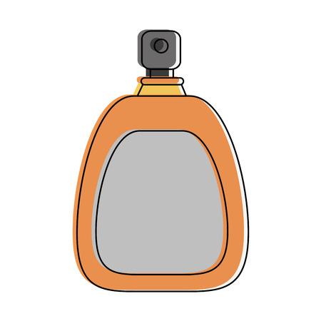 Perfume fragrance bottle icon.
