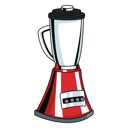 kitchen appliances: Blender kitchen appliance pop art icon vector illustration, graphic design.