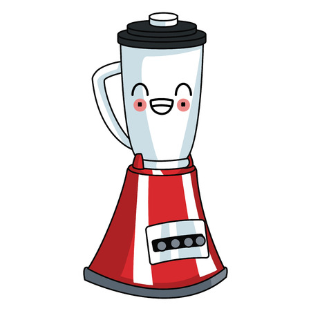 Blender kitchen appliance cartoon graphic