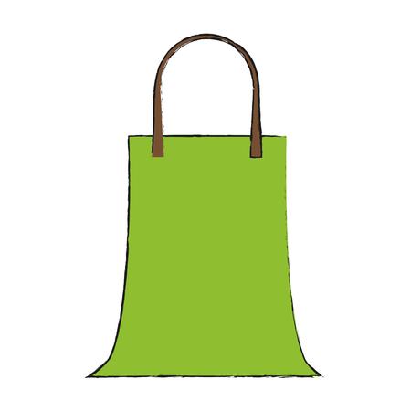 Shopping bag sybol icon vector illustration graphc design