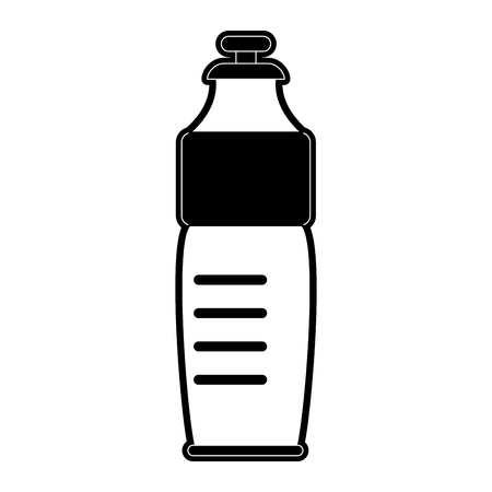 Water bottle isolated icon vector illustration graphic design Illustration