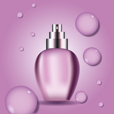 Fragrance product bottle icon vector illustration graphic design Ilustrace