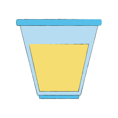 Urine test container icon vector illustration