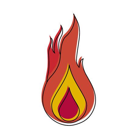 Fireball game item icon vector illustration graphic design