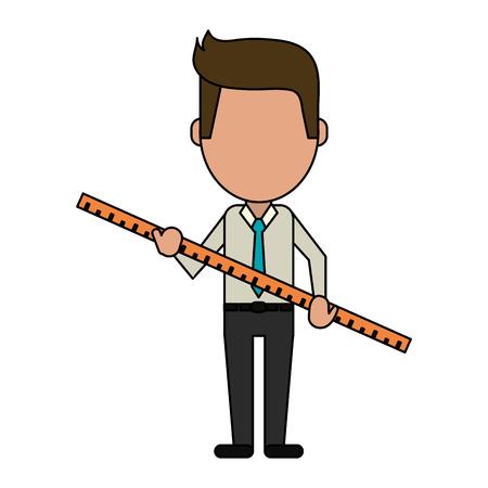 Businessman faceless vatar icon vector illustration graphic design