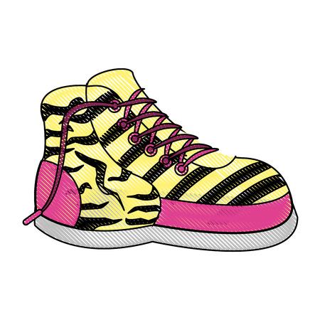 Women fashion boot icon vector illustration graphic design